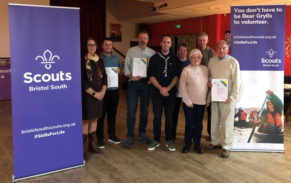 2019 recipients of thank you awards